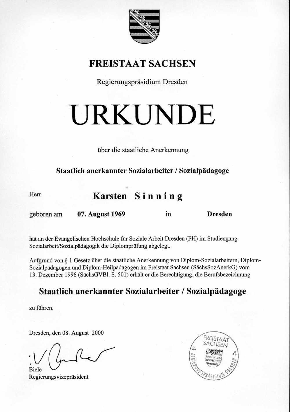 Karsten Sinning